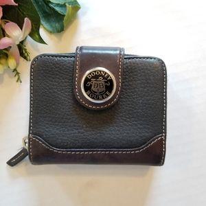 Dooney & Bourke Vintage Leather Bifold Mini Wallet